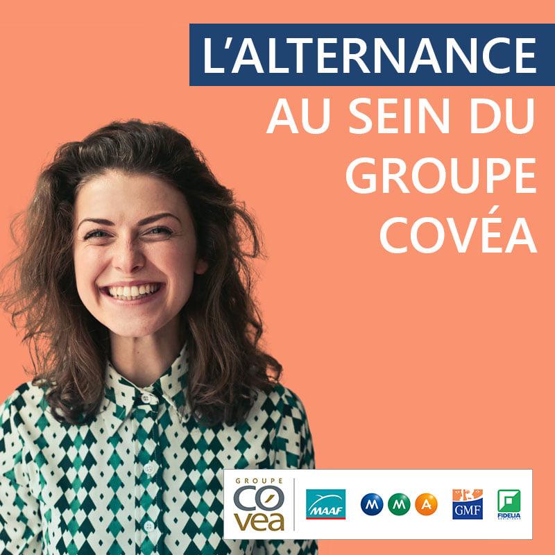 Atelier «La recherche d'alternance vue par Covea» – Mardi 11 mai à 17h30